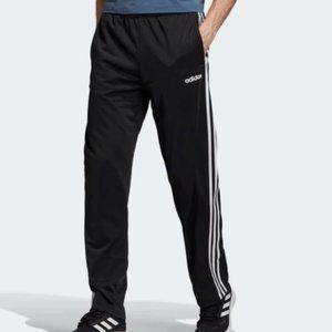 Adidas Essentials 3-Stripes Pants Side Snaps Black